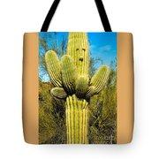 Cactus Face Tote Bag