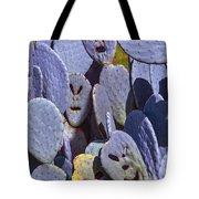 Cactus Faces Tote Bag