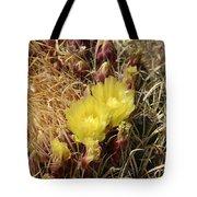 Cactus Flower In Bloom Tote Bag