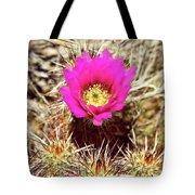 Cactus Flower Palm Springs Tote Bag