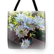 Cactus Flower Perfection Tote Bag