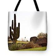 Cactus Golf Tote Bag