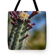 Cactus In Bloom Tote Bag