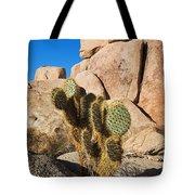 Cactus In Hidden Valley Tote Bag