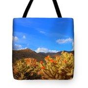 Cactus In Spring Tote Bag