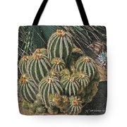 Cactus In The Garden Tote Bag