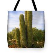 Cactus Monterey California Tote Bag