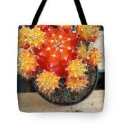 Cactus Orange Tote Bag