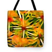 Cactus Pattern 3 Yellow Tote Bag by Amy Vangsgard