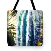 Cactus Pillar Tote Bag