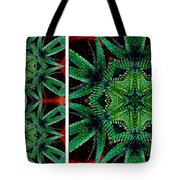 Cactus Triptych Tote Bag