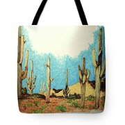 Cactus With A 'tude Tote Bag