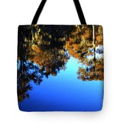 Caddo Lake Reflections Tote Bag
