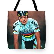 Cadel Evans Tote Bag