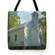 Cades Cove Baptist Church Tote Bag