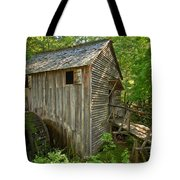 Cades Cove Grist Mill Closeup Tote Bag