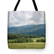 Cades Cove In Summer Tote Bag by Todd Blanchard