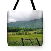 Cades Cove Mountains 1 Tote Bag