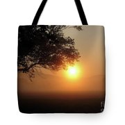 Cades Cove Sunrise Tote Bag