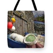 Cadgwith Fishing Paraphernalia  Tote Bag