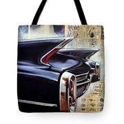 Cadillac Attack Tote Bag