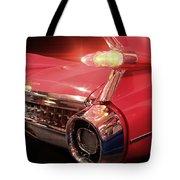 Cadillac Fin Tail Tote Bag