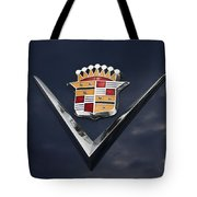 Cadillac Crest Tote Bag