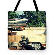 Cadillacs In Decay Tote Bag