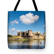 Caerphilly Castle 1 Tote Bag