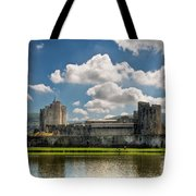 Caerphilly Castle 3 Tote Bag