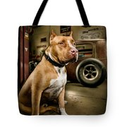 Caesar At Millers Chop Shop Tote Bag