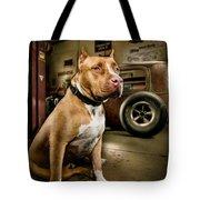 Caesar At Millers Chop Shop Tote Bag
