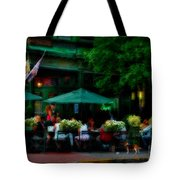 Cafe Alfresco Tote Bag