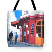 Cafe Des Musees Paris Tote Bag