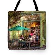 Cafe - Hoboken Nj - Empire Coffee And Tea Tote Bag