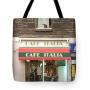 Cafe Italia Tote Bag by Mike McGlothlen