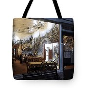 Cafe Italiano Night Usa Tote Bag