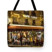 Cafe Luna Tote Bag