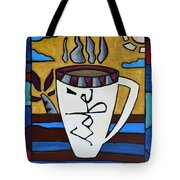 Cafe Resto Tote Bag by Oscar Ortiz