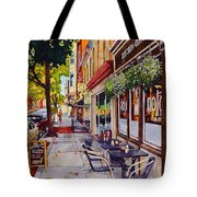 Cafe Nola Tote Bag