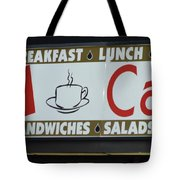 Cafe Time Tote Bag