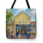 Cafes Tote Bag