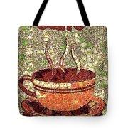 Caffe Tote Bag