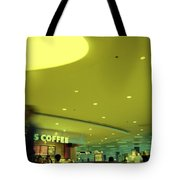 Caffe On The Fly Tote Bag