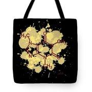 Caffeine Formula Digital Art Tote Bag