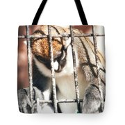 Caged But Strong Tote Bag