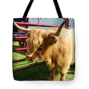 Caged Coo Tote Bag