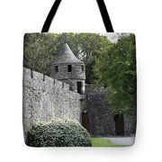 Cahir Castle Wall And Tower Tote Bag