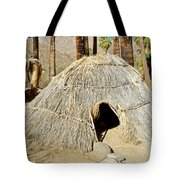 Cahuilla Indian Dwelling In Andreas Canyon In Indian Canyons-ca Tote Bag