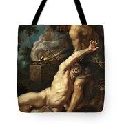 Cain Slaying Abel Tote Bag